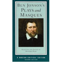 Ben Jonson's Plays and Masques