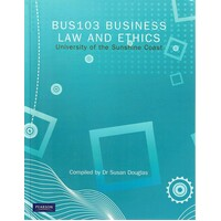 BUS103 Business Law And Ethics University Of The Sunshine Coast