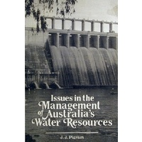 Issues In The Management Of Australia's Water Resources