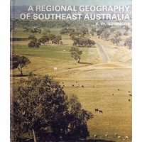 A Regional Geography Of Southeast Australia