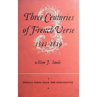 Three Centuries Of French Verse 1511-1819