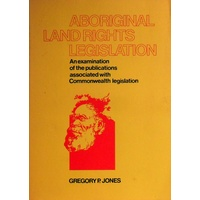 Aboriginal Land Rights Legislation