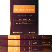 The College Of Law Practice Papers