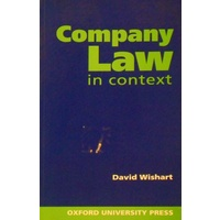 Company Law In Context