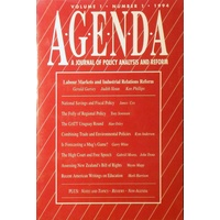 Agenda. A Journal Of Policy Analyis And Reform