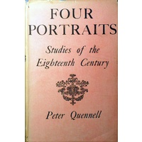 Four Portraits. Studies Of The Eighteenth Century