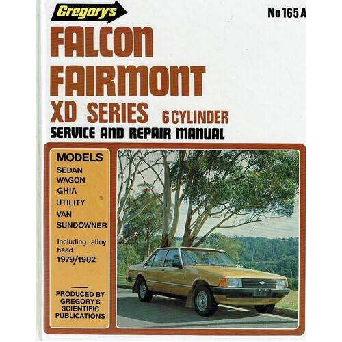 Falcon Fairmont Xd Series 6 Cylinder 1979-1982